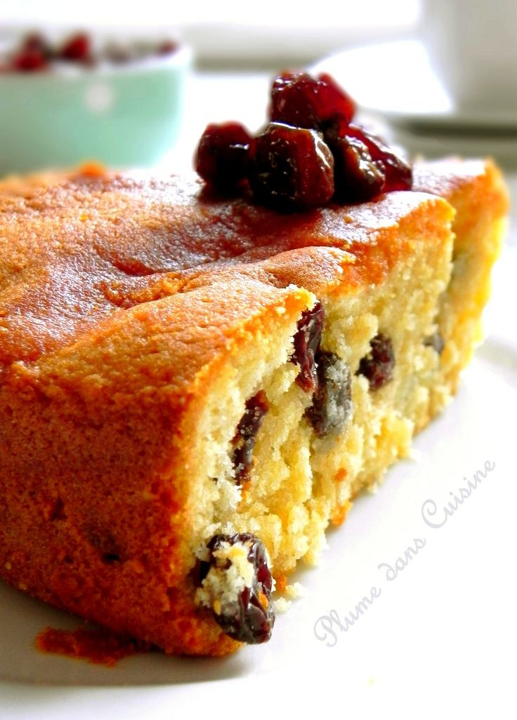 Gâteau-rhum-raisins très moelleux