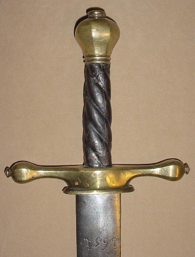 German Executioner's Sword, Dated 1651 | Executioner's ...
