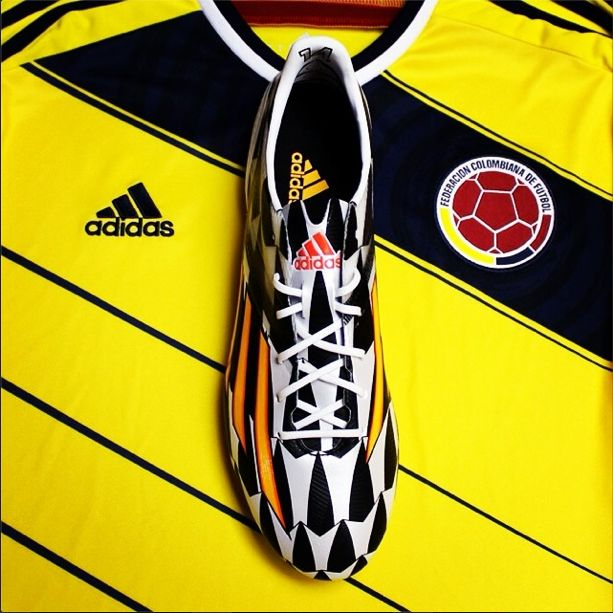 James Rodriguez Adidas #F50 is his weapon of choice. #allin or nothing