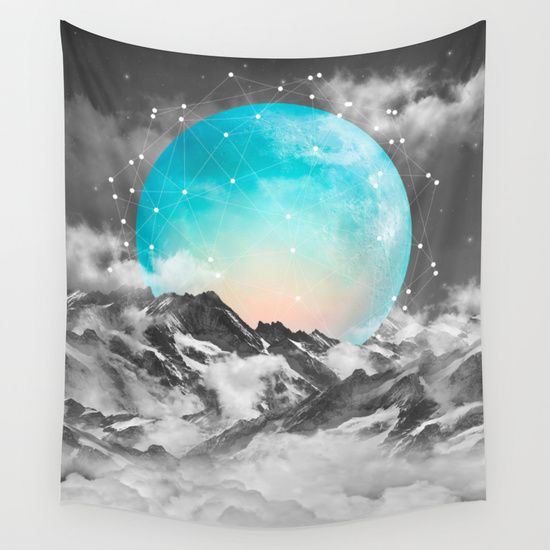 Buy It Seemed To Chase the Darkness Away (Guardian Moon) by soaring anchor designs  as a high quality Wall Tapestry. Worldwide shipping available at Society6.com. Just one of millions of products available.