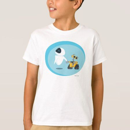 EVA and WALL-E T-Shirt - tap, personalize, buy right now!