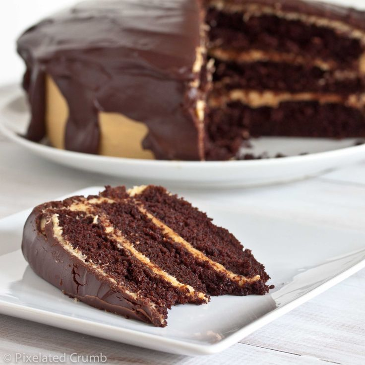 there is nothing wrong with chocolate and peanut butter. yum.: Peanuts, Chocolates Peanut Butter, Chocolates Cakes, Pb Cakes, Recipes, Chocolates Pb, Ultimate Chocolates, Chocolate Peanut Butter, Peanut Butter Cakes