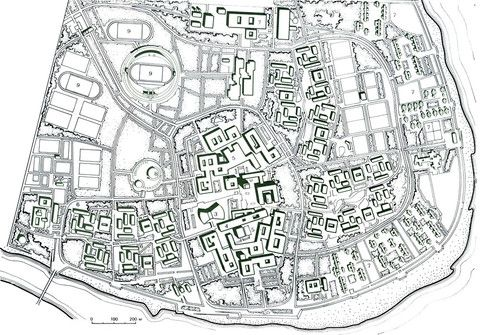 Университетский городок в Багдаде.