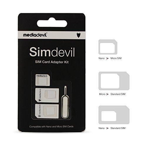 Adaptador de tarjeta SIM 3 en 1 Simdevil #ofertas #regalos #regalar #tienda #madrid #españa