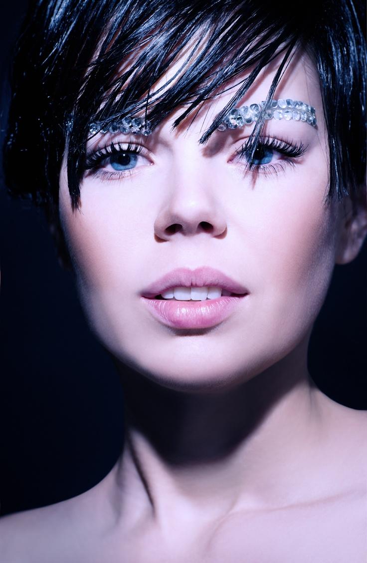Kalendarz Rossmann luty 2013 - Zima / Make-up: Cztery Pory Roku