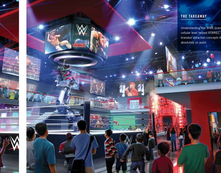 WWE podría estar planeando un parque de atracciones temático