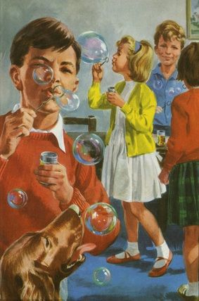 Blowing bubbles - Peter and Jane, Games we Like..