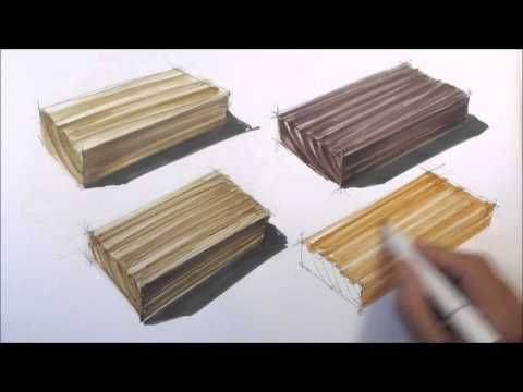 basic sketching techniques: wood