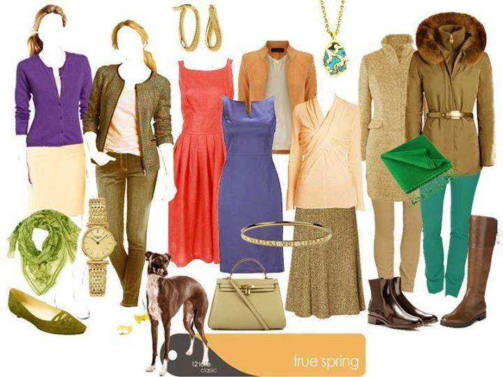 Image result for true spring wardrobe
