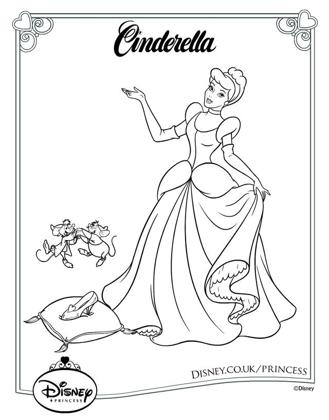 The 40 best images about Disney princess coloring pages on