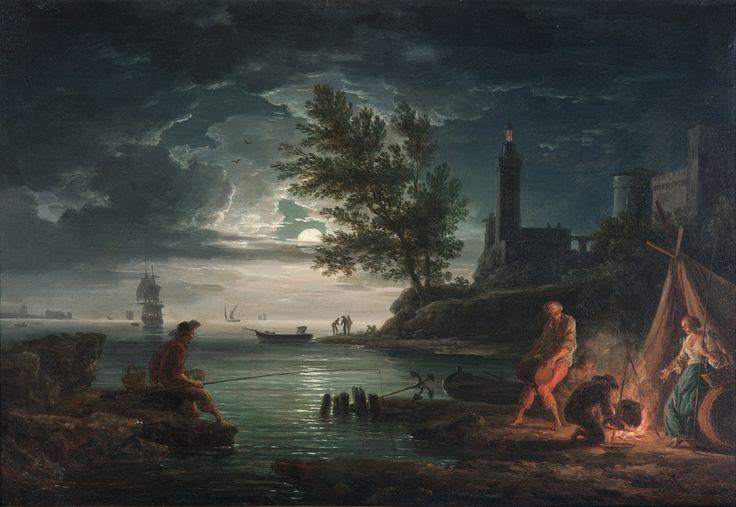 Claude-Joseph Vernet - Night