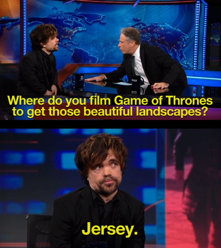 Peter Dinklage reveals where GoT is really filmed.