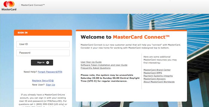 MasterCard Rewards Sign Up