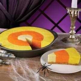 Easy {Candy Corn} Cheesecake!