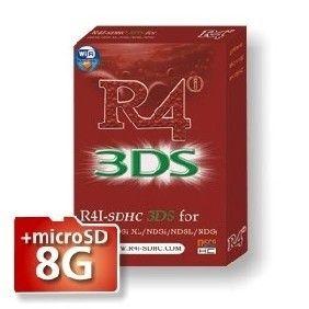R4i SDHC 3DS Karte für 3DS 3DS XL DS Lite DSi DSi XL Kompatibel mit DSi v1.4.5/3DS   8GB Micro SD