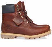 Bruine Timberland boots 6 Inch Premium Boot enkelaarsjes