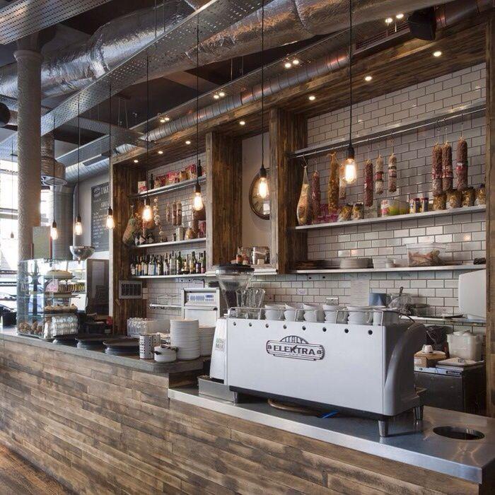 34 Ideas Rustic Cafe Interior Design To Attract More Customers Rustic Coffee Shop Coffee Shop Decor Coffee Shop Design