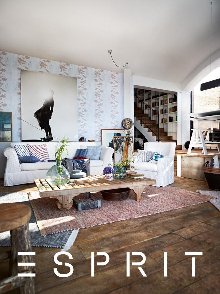 de 25 b sta id erna om esprit home bara p pinterest chalet m bel kuststil och le monde fr. Black Bedroom Furniture Sets. Home Design Ideas