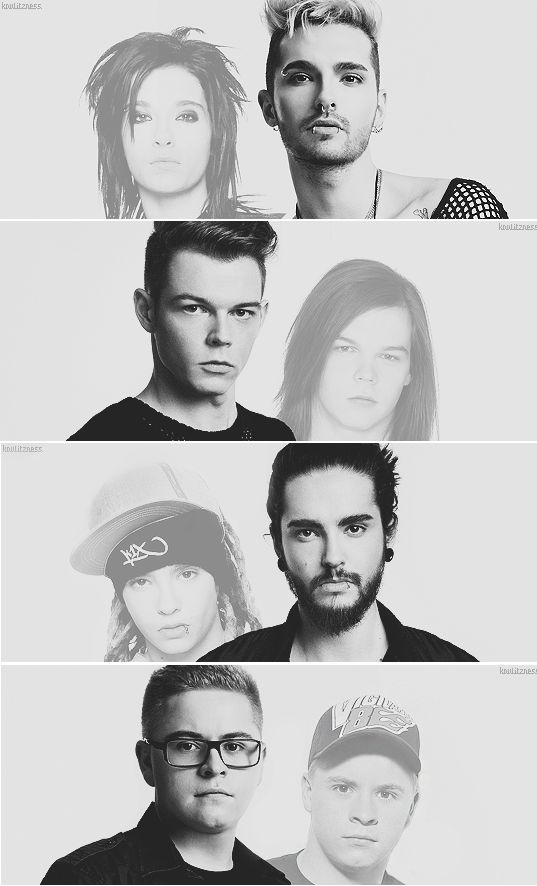 Now & Then, Tokio Hotel. LOVE THEM SO MUCH!!! After all these years!!