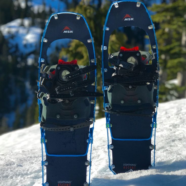 Gear review of the MSR Lightning Ascent Snowshoes designed for demanding terrain and performance. First impressions after putting these snowshoes to the test in an alpine environment.