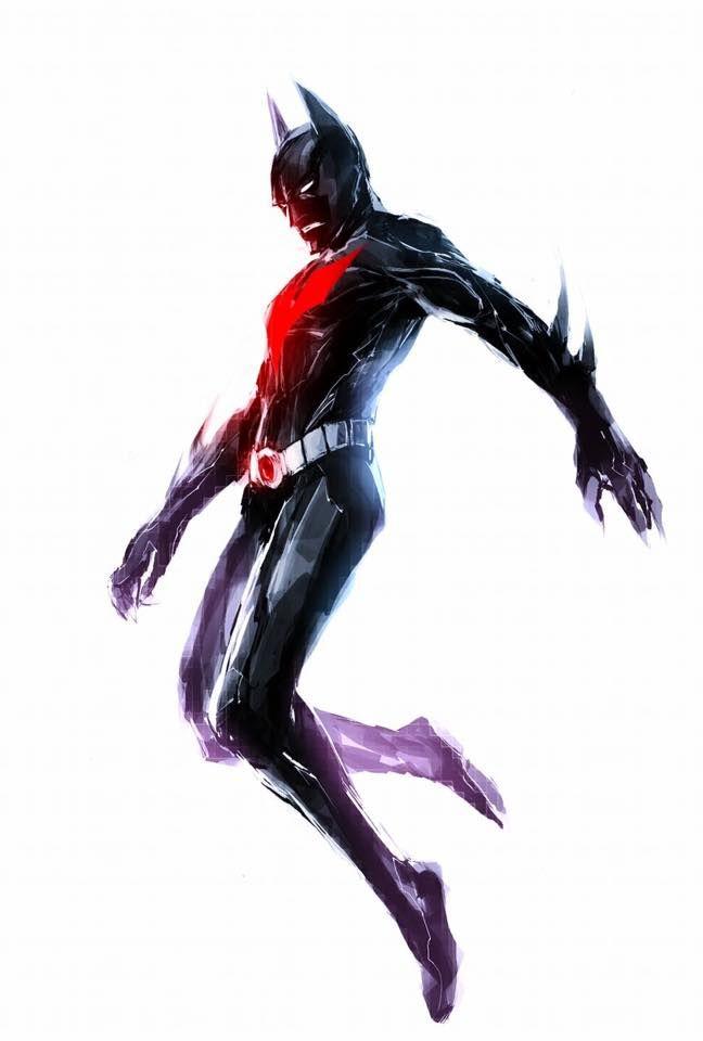 Batman Beyond by Yasuhiro Naratani #YasuhiroNaratani #Batman #BatmanBeyond #TerryMcGinnis #Gotham #JusticeLeagueUnlimited #JLU