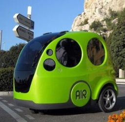 This car runs completely on air!