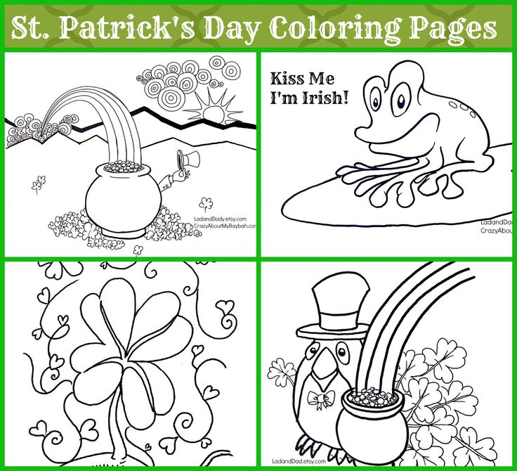 zabbar st patricks day coloring pages - photo #36
