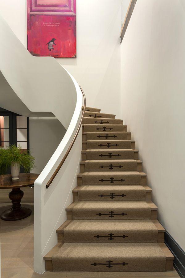 Merida bespoke wool stairs | Ashe+Leandro