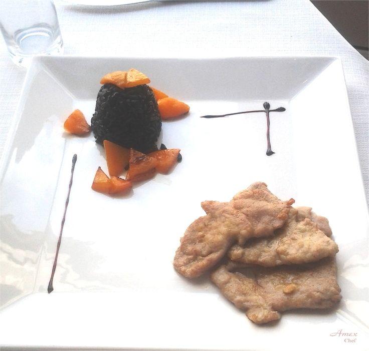 Scaloppine di vitello al limone. - Eskalopki cielęce z cytryną - Veal escalopes with lemon -  Chiedi la ricetta! zapytać o przepis! ask for the recipe! info@del-italy.com www.del-italy.com