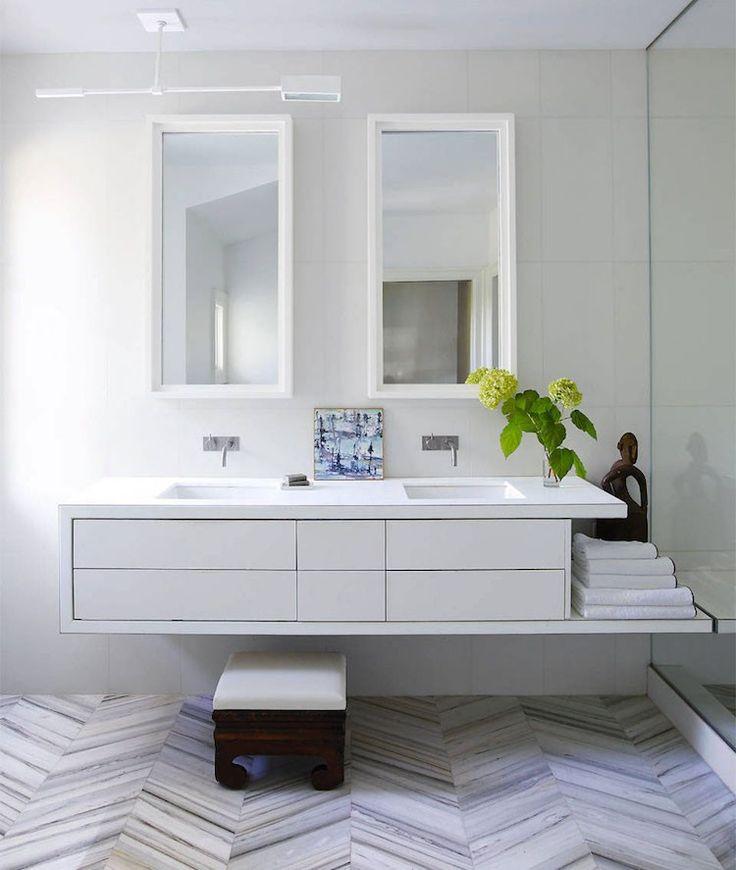 Badezimmer Storage Tip 15 Modern, Retro oder