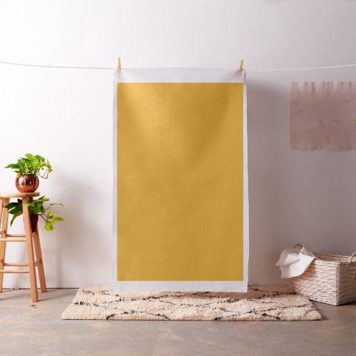 Bright Sunny Yellow Fabric
