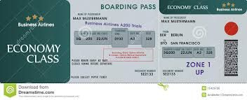 Image result for boarding pass template