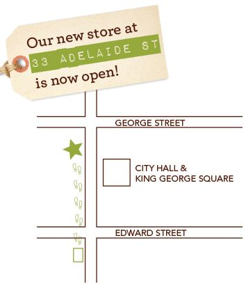 Biome City store moving to 33 Adelaide Street, map