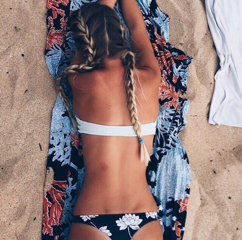 Imagen de summer, beach, and girl