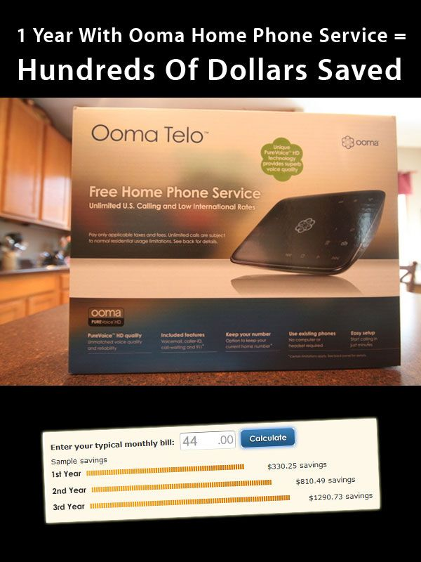 Ooma Home Phone Service After One Year: Saving Big Bucks On Home Phone Service  http://www.biblemoneymatters.com/ooma-home-phone-service-after-one-year-saving-big-bucks-on-home-phone-service/