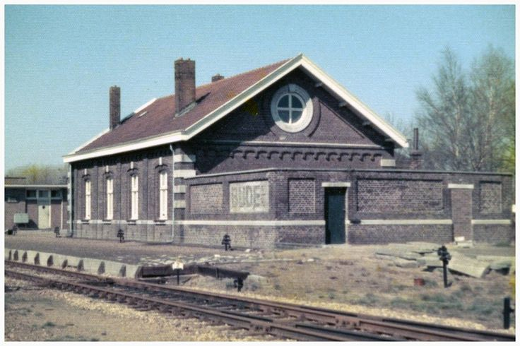 Station, Parallelweg  Auteur: niet vermeld - 1977