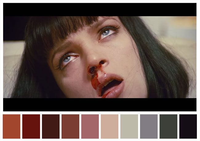 Color Palettes From Famous Movies Show How Colors Set The Mood Of - These colour palettes inspired by famous movie scenes are beautiful