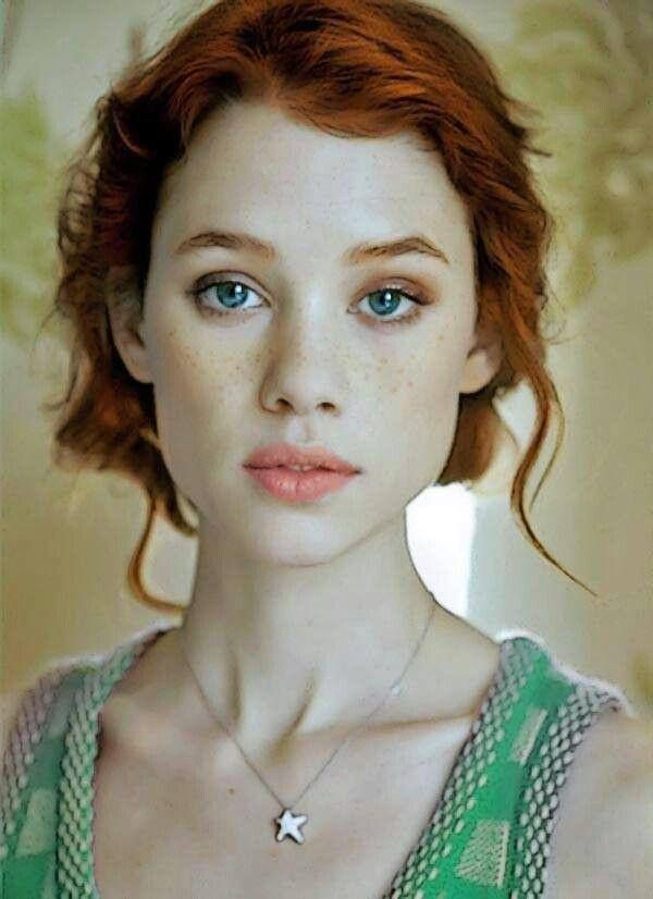 Redheads #freckles #ginger