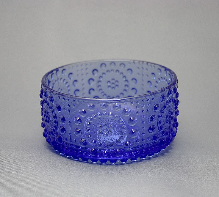 Glass bowl Grapponia by Nanny Still. 1970s | Jälkiruokamalja, Grapponia, Nanny Still, 1970-luku