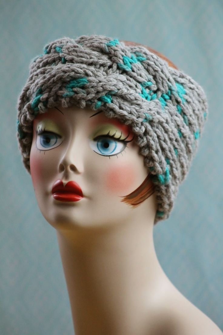 Grandmas Magic Knit Headband Knitted headband, Yarns and Patterns
