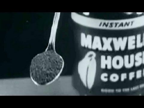 Maxwell House Coffee Commercial: Good to the Last Drop circa 1956: http://youtu.be/YgYWJ8xdKYs #coffee #commercial #advertising