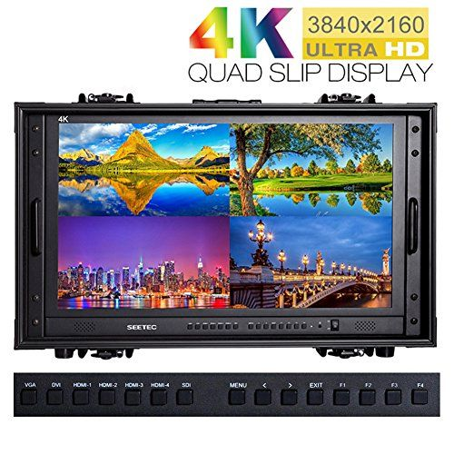 SEETEC 4K2809HSDCO 28 Inch 4K Broadcast Monitor for CCTV Monitoring Making Movies Ultra HD Carryon Director Monitors 28 3840x2160 Portable Case LCD Monitor ** To view further for this article, visit the image link. #Photography