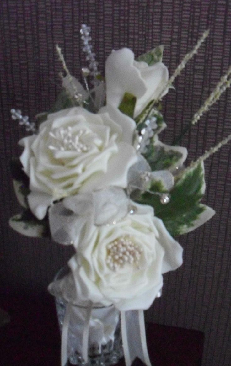 71 best nozze wedding flowers and favours images on pinterest mother of the bridegroom corsage of artificial ivory flowers by nozzeweddingflowersandfavours dhlflorist Gallery