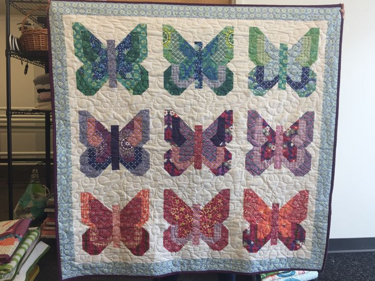 Social Butterfly Large Throw - Seconds Sale