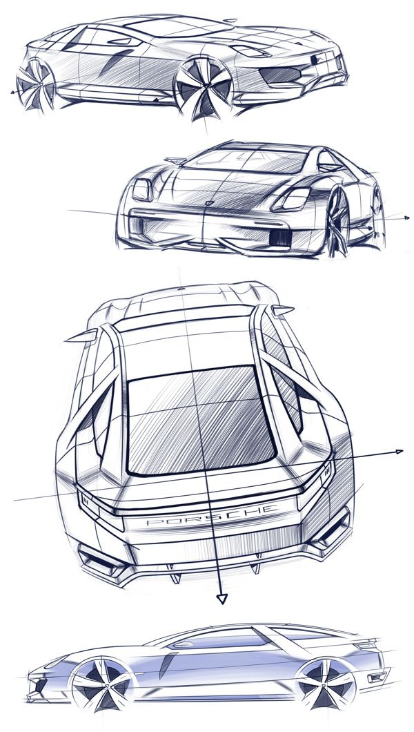 Porsche 929 on Behance