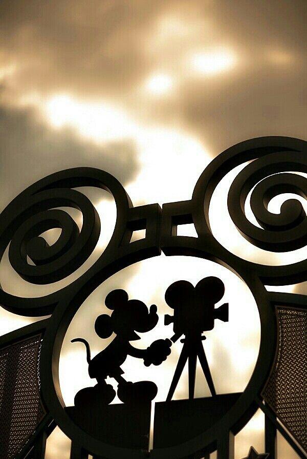 Hidden Mickey • Entrance at Walt Disney Studios Park - Disneyland Paris