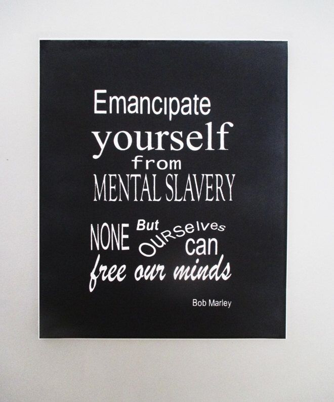 Bob Marley Spiritual Quote on Canvass by ARoyalT on Etsy https://www.etsy.com/listing/239153060/bob-marley-spiritual-quote-on-canvass