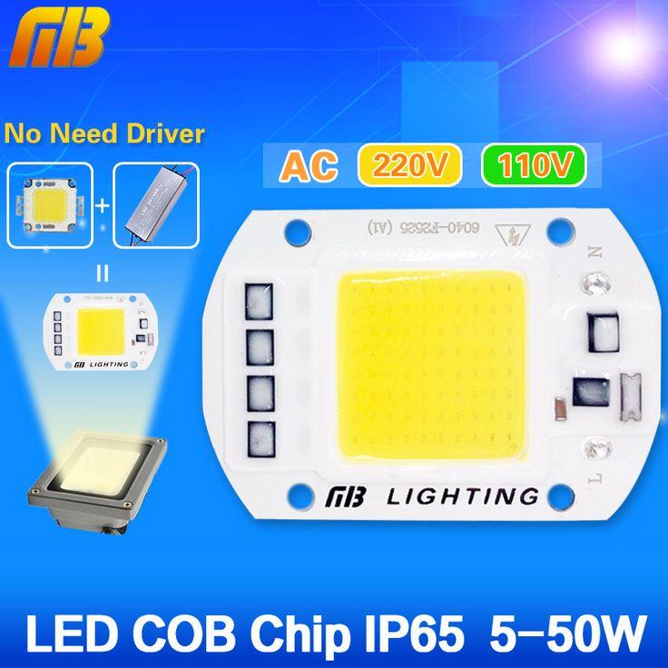 DIPIMPIN TONGKOL Bola Lampu 5 W 20 W 30 W 50 W DIPIMPIN Chip 220 V 110 V Input IP65 Pintar IC terintegrasi Driver untuk banjir cahaya Dingin/Hangat putih