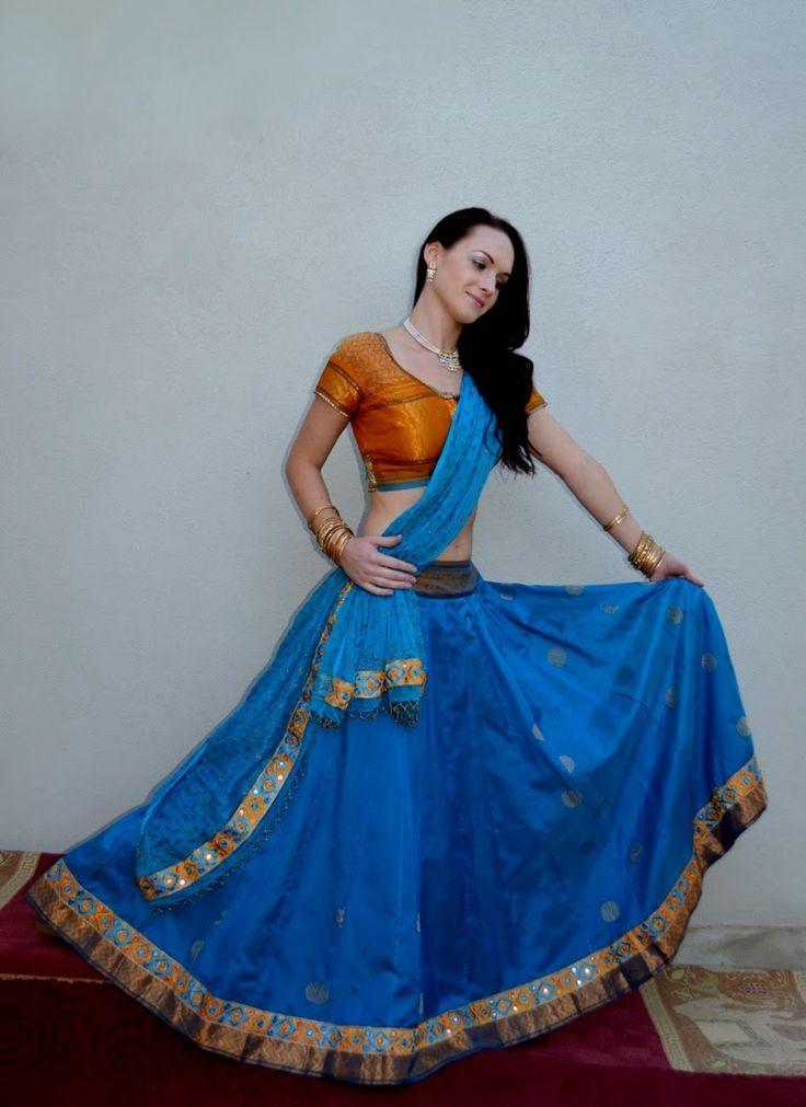 Sparkling Fashion: Radha Govindha Fashions-Gopi Skirts-Lehanga sarees