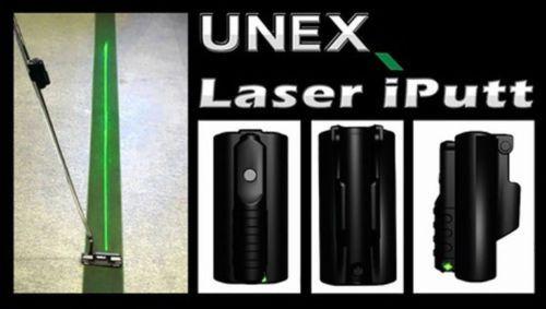 UNEX Laser iPutt Golf Trainer Putter Alignment Putting Practice UN-Iputt
